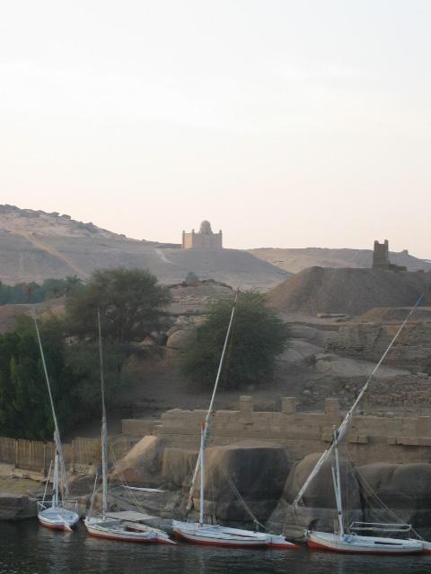 Feluccas and Mausoleum