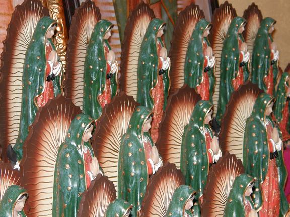 Multiple Virgen De Guadalupes