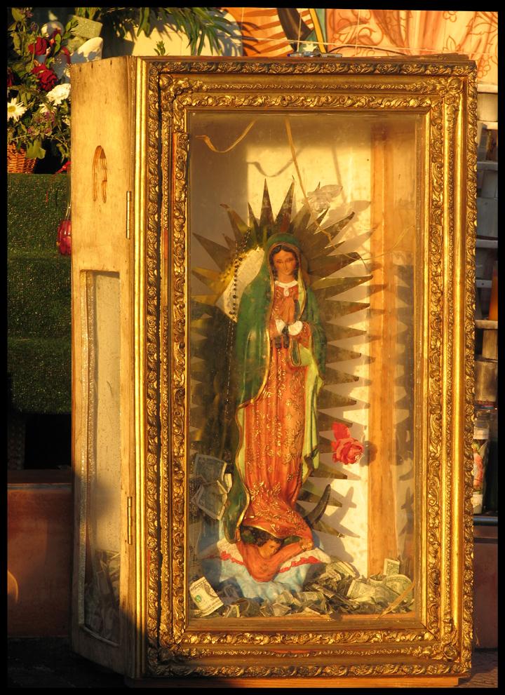 Virgin at sunset II.
