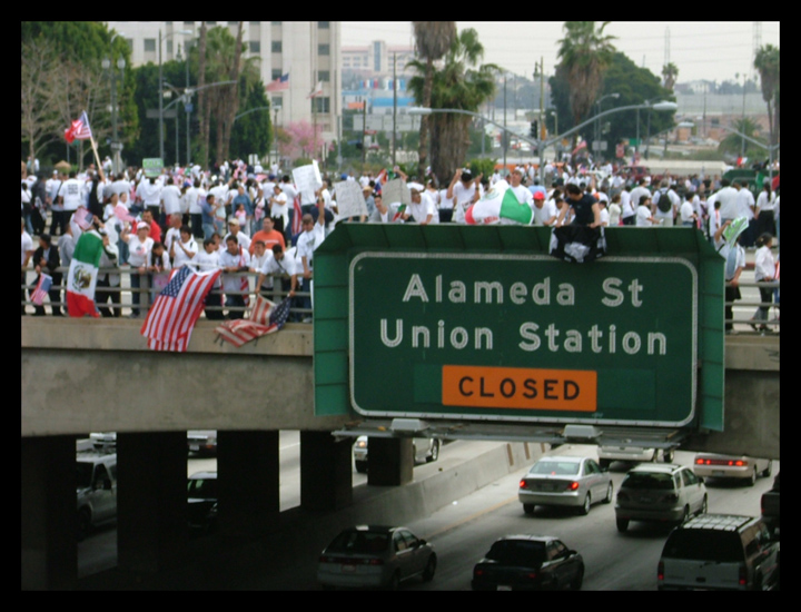 Alameda and Union Station Closed