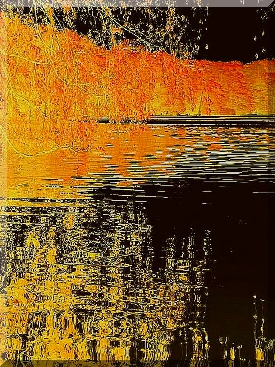 Reflection in Gold