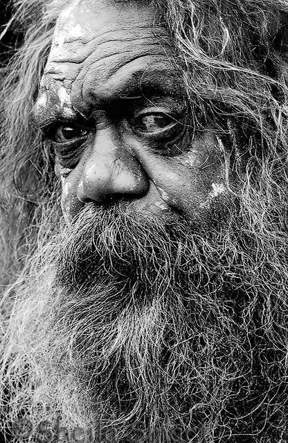 Cedric  - portrait of an aborigine