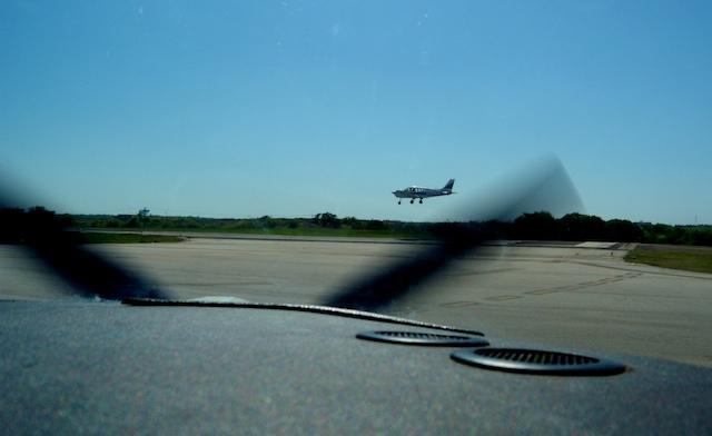 Meacham landing aircraft.jpg