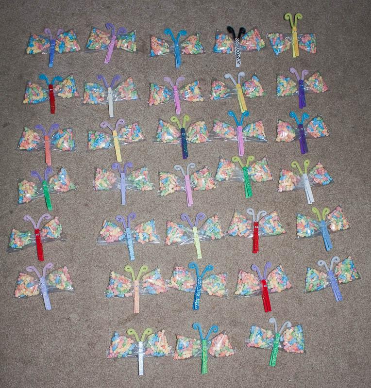 33 butterflies....each one unique