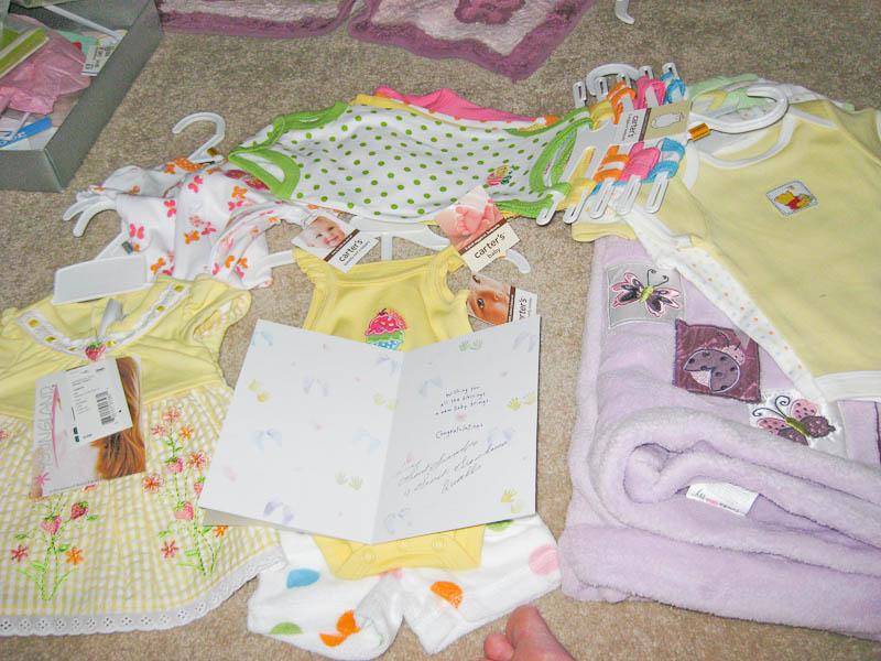 Clothes from Grandma & Grandpa Qualls