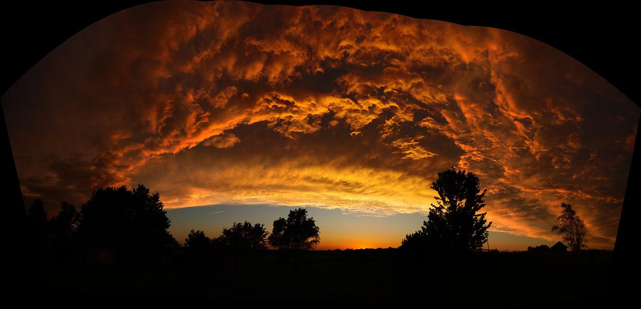Sky Filler Sunset (Uncropped Stitch)
