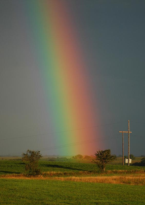 Rainbow Near Conception Junction