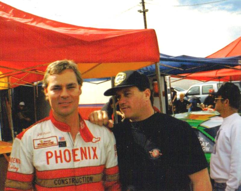 Jeff Purvis and Nicky Formosa