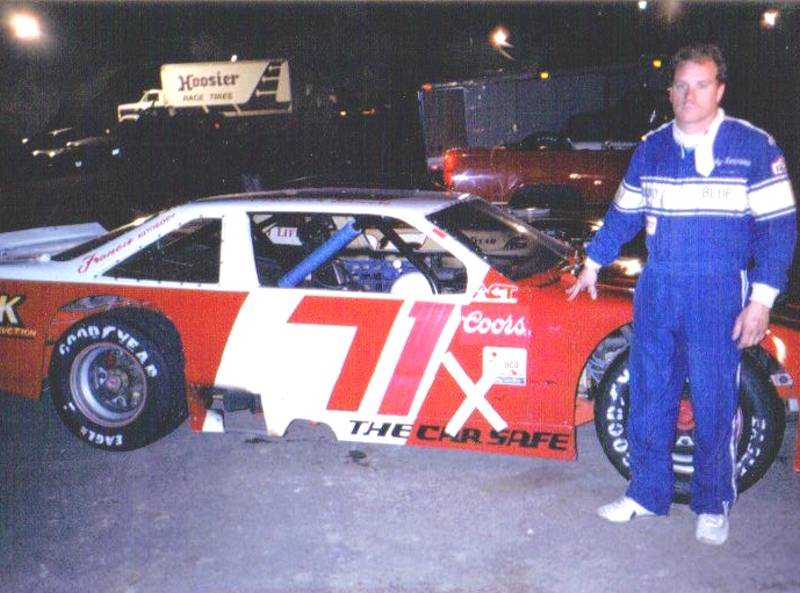 Nicky in ACRA race at Nashville