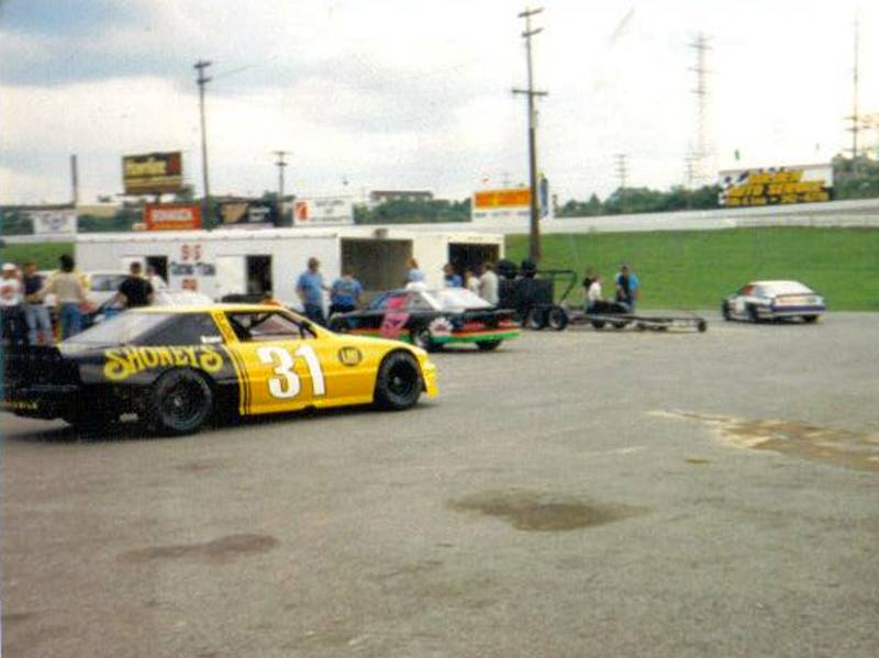 Nicky Formosa 31 Shoneys Car 1988