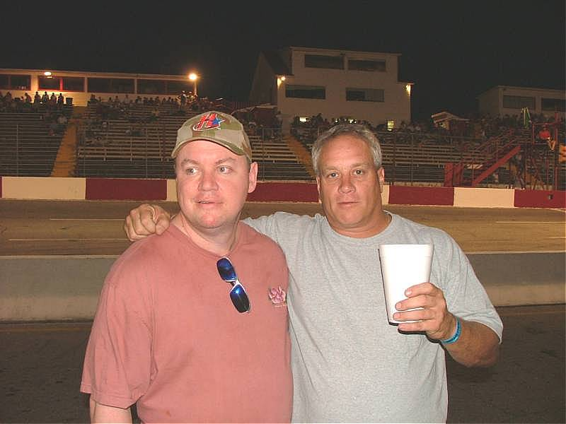 Chuck Chamblee and Nicky Formosa August 25 2006
