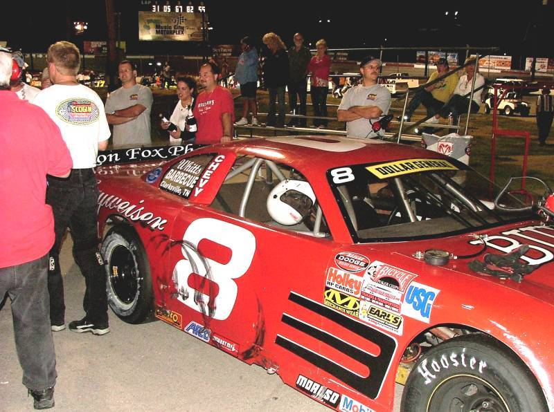 Mark Day Wins 2006 NASCAR Late Models Championship.