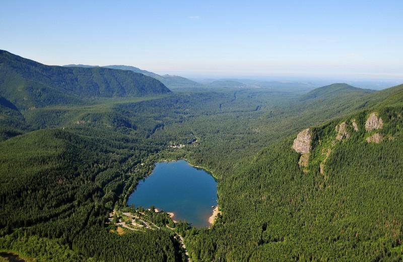 Rattlesnake Lake and Mountain
