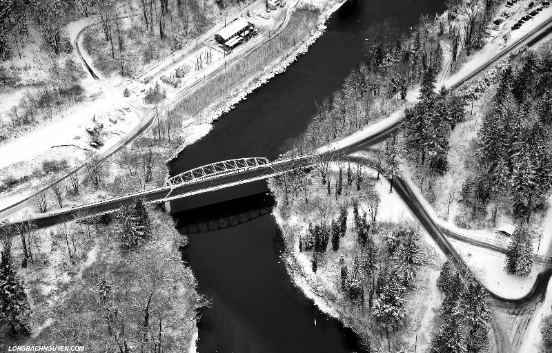 bridge to Snoqualmie Falls