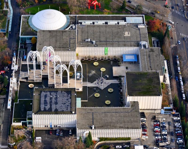 Pacific Science Center, Arches, Seattle Center Complex, Seattle, Washington