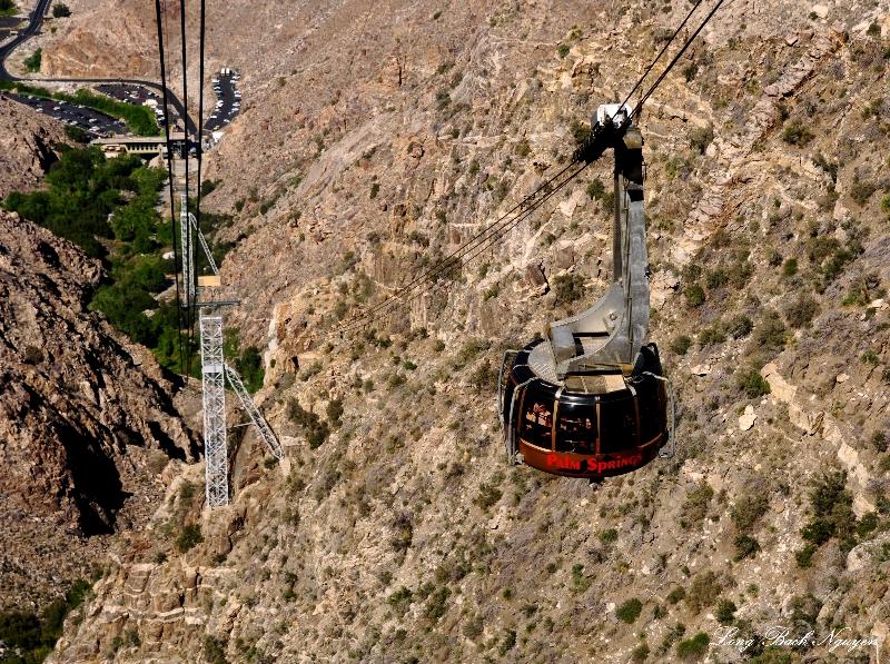 Aerail Tramway, Chino Canyon, Palm Springs, CA