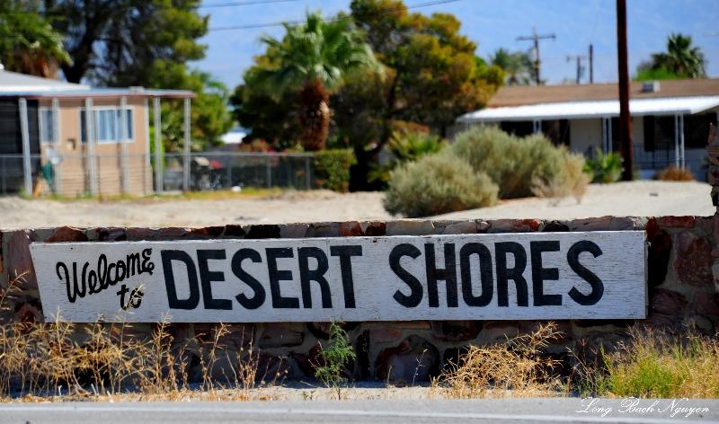 Desert Shores, Salton Sea, CA