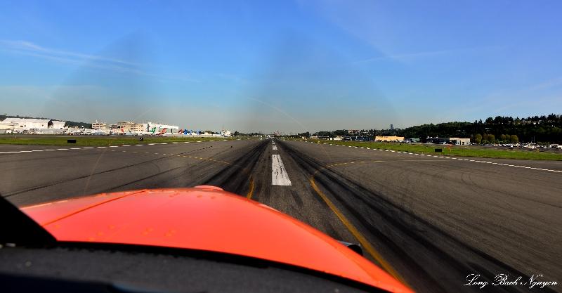 depart BFI - Boeing Field