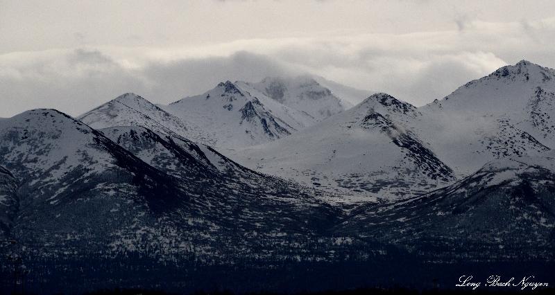 Chugach Mountain, East Anchorage, AK