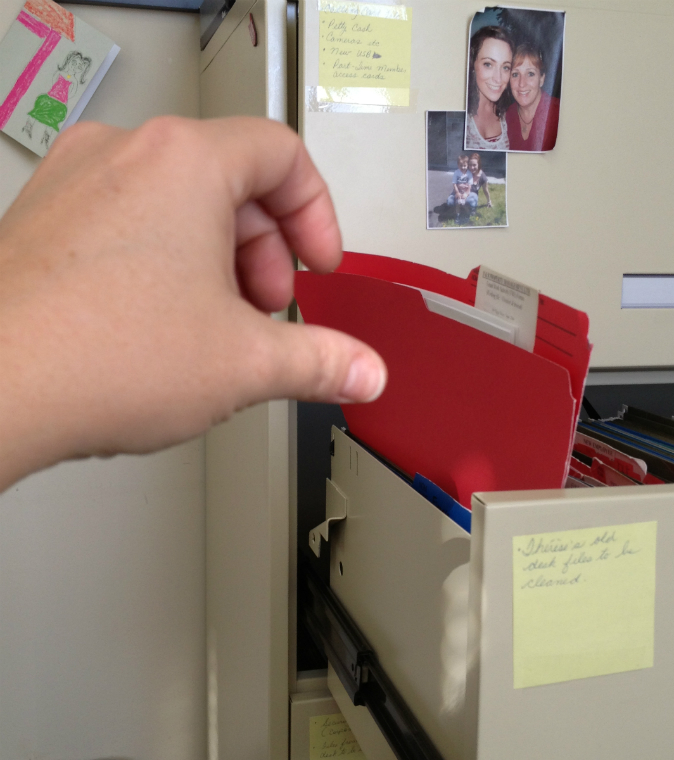 Wonder whats in the RED file....