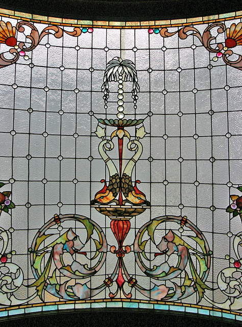 Foyer Window on Staircase