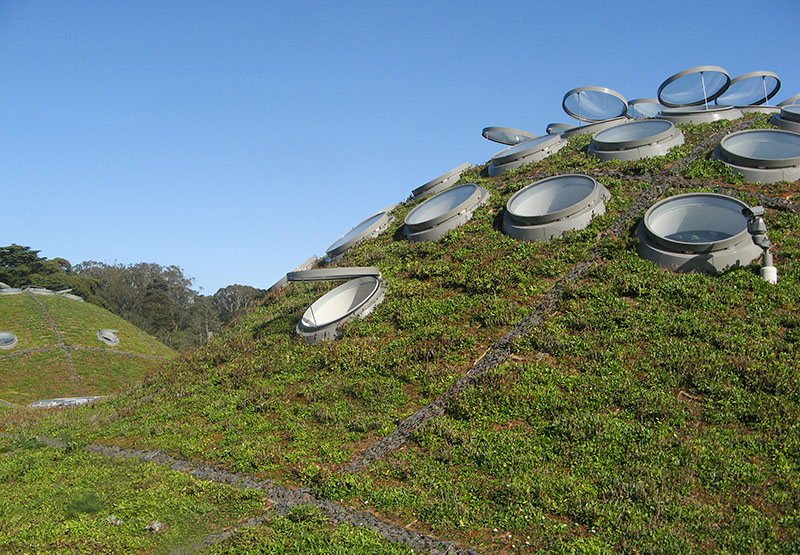 The cooling system on top of other hills