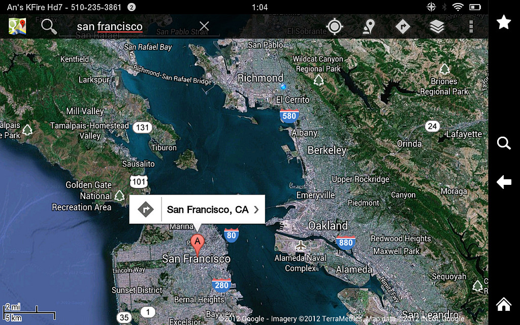 Google maps on kindle fire hd 7 screenshot of sf bay area photo google maps on kindle fire hd 7 screenshot of sf bay area gumiabroncs