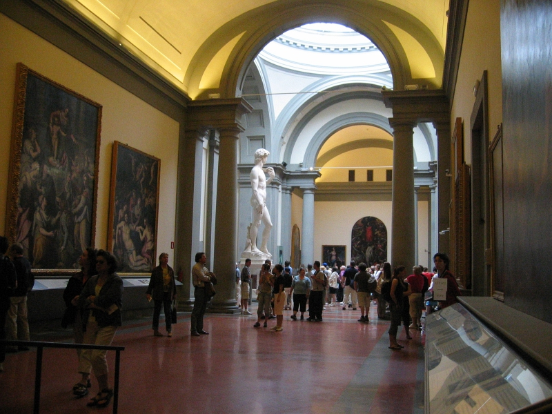 Michelangelos David, at Accademia