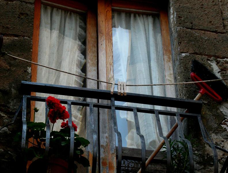 I loved this window scene.