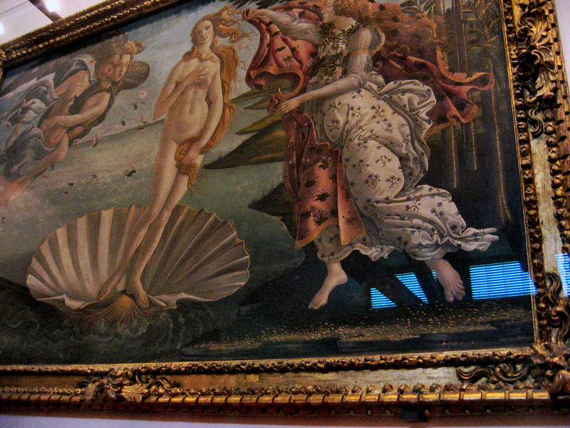 Botticelli: The Birth of Venus, Uffizi Gallery