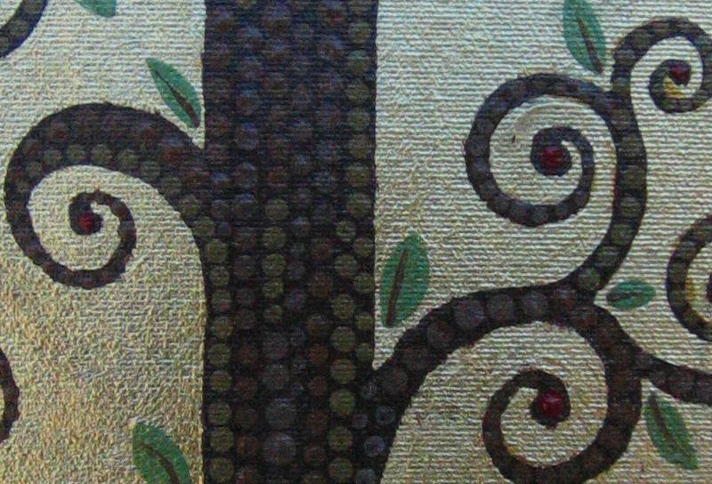 Detail from Ks artwork.