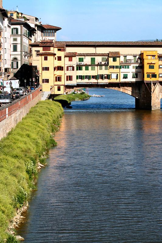 More of the Ponte Vecchio area