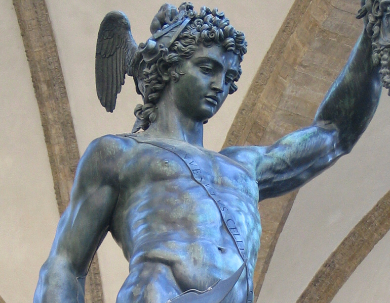 <a href=http://tinyurl.com/hklaf target=_blank>Perseus</a> coldly-placid expression after the deed