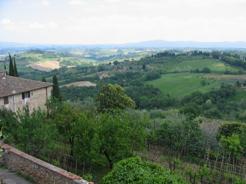 Another view from top of San Gimignano