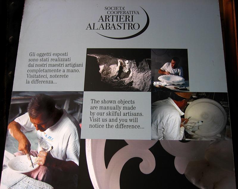 Alabaster workshop