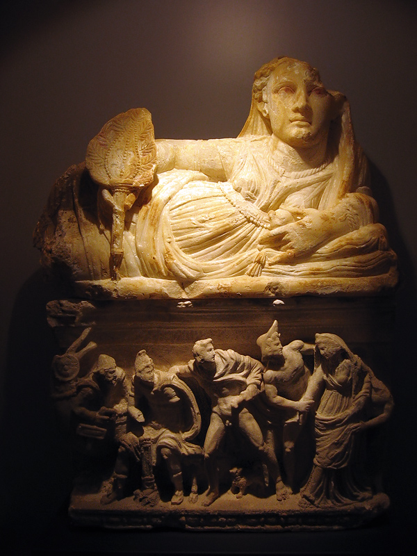 Older museum piece at the Alabaster Museum