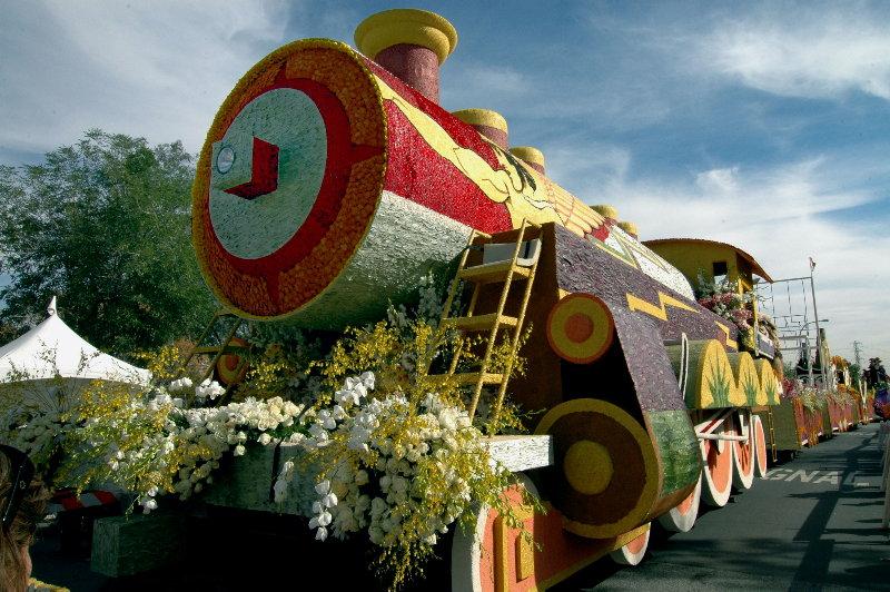 Rose Parade 2008,  Western Asset.