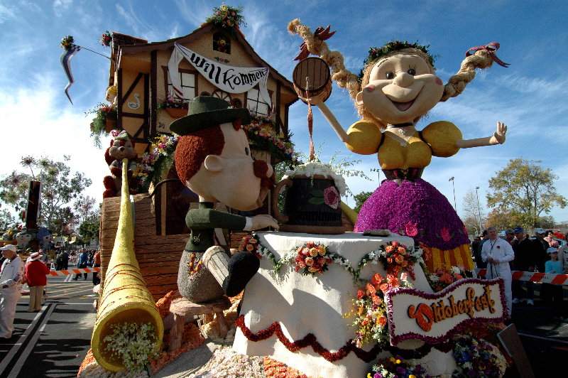 Rose Parade 2008, Founders Trophy
