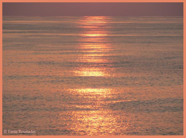 Sunset in 4 shots. 1 ...