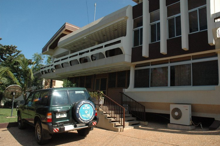The new offices of the Foundation in Ghana