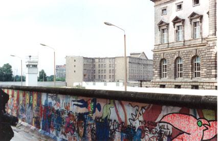 Berlin Wall Wilhelmstrasse 2 - July,1988
