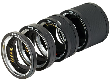 Rollei Extension tubes