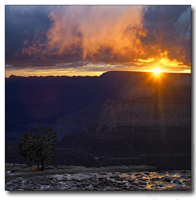 Sunrise, Grand Canyon, AZ