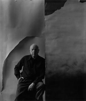 Portrait of American photographer Paul Strand
