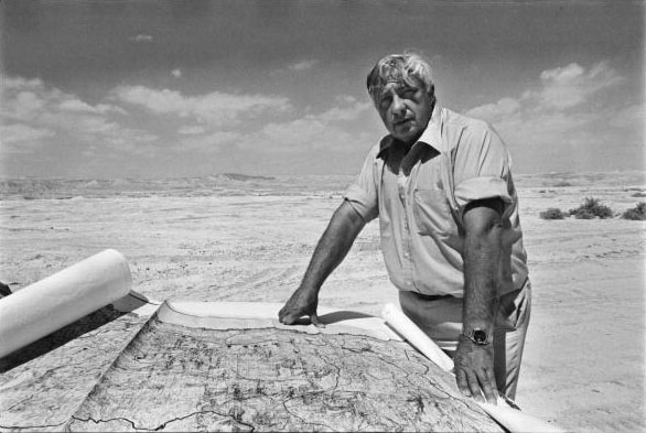 Portrait of Ariel Sharon