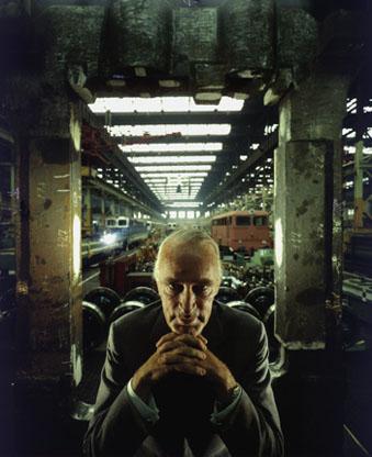 Portrait of German industrialist Alfried Krupp