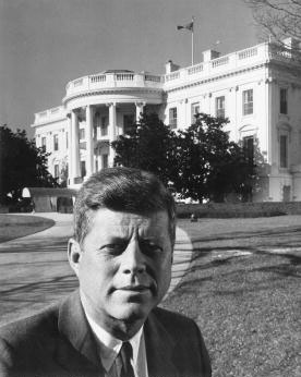 Portrait of President John F. Kennedy