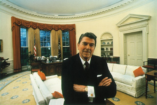 Ronald Reagan, President of the United States