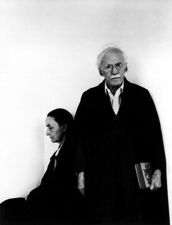 Georgia OKeeffe and Alfred Stieglitz