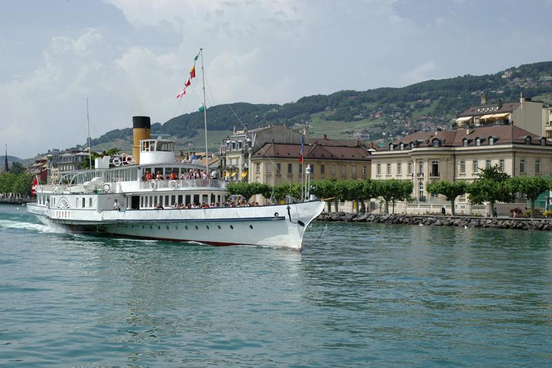 Steamboat Vevey in Vevey